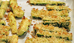 Baked Zucchini Photo by Maggie Hoffman on Flickr