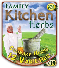 Family Kitchen Herbs