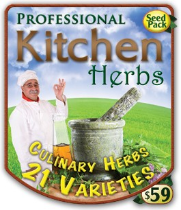 Professional Kitchen Herbs